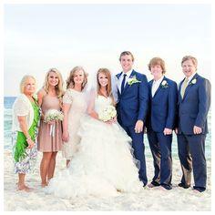 color, famili shot, beach weddings, panama city beach