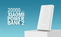Xiaomi MI 20000 mAh Power Bank 2 with Quick Charge 3.0