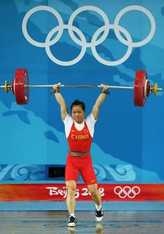 Chen Yanqing - Weighlifting - Beijing Olympics 2008 & Athens 2004 - Womens 58kg