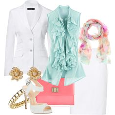 Easter Fashion, created by melinda tognetti-gouizi on Polyvore