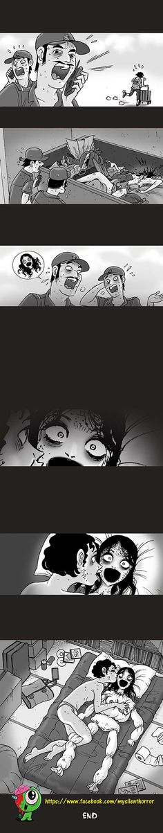 Silent Horror :: Trash   Tapastic Comics - image 3