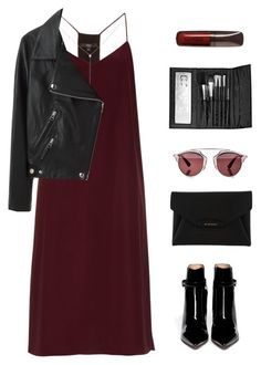 """""""wisp"""" by megabxbe ❤ liked on Polyvore featuring TIBI, Sara Weinstock, Acne Studios, Gianvito Rossi, Givenchy, Christian Dior, Sephora Collection, Hourglass Cosmetics, women's clothing and women"""