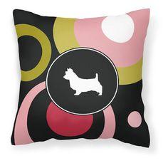 Carolines Treasures Australian Terrier Decorative Outdoor Pillow - KJ1009PW1414