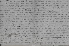 A page from De Profundis, the 50,000-word letter that Oscar Wilde wrote to Lord Alfred Douglas from Reading Gaol between December 1896 and March 1897.