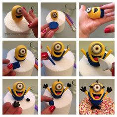 Minion Fondant Tutorial