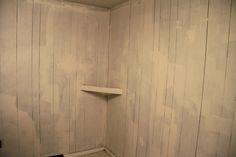 Painting fake wood paneling - great instructions and pics.