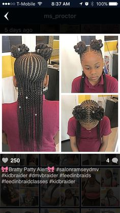 Best Picture For children hair styles curly For Your Taste You are looking for something, and it is going to … Lil Girl Hairstyles, Easy Hairstyles For Kids, Kids Braided Hairstyles, Princess Hairstyles, My Hairstyle, Girl Haircuts, Simple Hairstyles, Black Hairstyles, Hairstyle Ideas