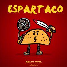 Espartaco, Espartano, Taco