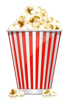 Popcorn Box PSD