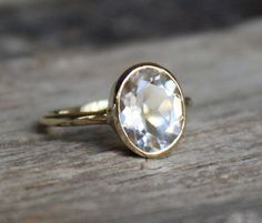 inset round cut diamond engagement ring simple band....smaller would be perfect