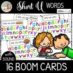 These Boom cards cover Short U words. The students will listen to the word they need to spell, then they can look at the picture, then they tap the letters to spell the word. Please check out my preview. This will lead you to a link that will allow you to play 4 cards to see exactly what the students will see. WHAT IS A BOOM CARD?