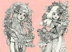 Welcome to the whimsical world of Yuko Higuchi. This is amazing.