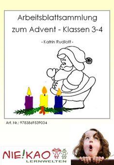 Arbeitsblattsammlung zum Advent für die Klassen 3-4