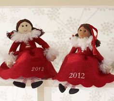 Doll Ornament #PotteryBarnKids