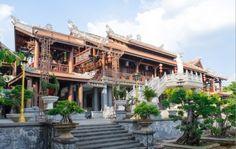 Tu Sac Khai Doan pagoda Daklak Vietnam
