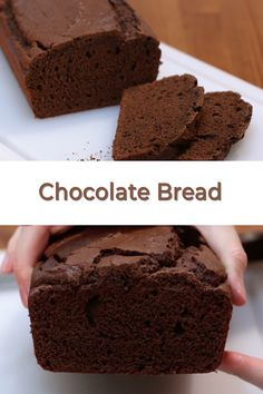 If you are a fan of quick breads, then you have got to try this easy homemade chocolate bread recipe. It is so soft and full of chocolate flavor! Chocolate Bread Recipe, Homemade Chocolate, Chocolate Flavors, Chocolate Desserts, Quick Bread Recipes, Easy Bread, Cake Recipes, Dessert Recipes, Brunch Recipes