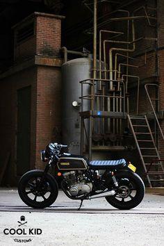 Yamaha XS500 by Cool Kid Customs
