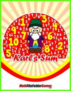 Theres a famous story about the mathematician Karl Friedrich Gauss thats a great one to share with your class.Even famous mathematicians and their classmates dont always behave!One day when students in Karls class were really noisy and displaying bad classroom behavior, the teacher got very upset.  Find free #math ideas here: https://www.teacherspayteachers.com/Store/Mathfilefoldergames/Price-Range/Free