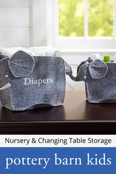 Nursery & Changing Table Storage