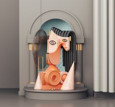 """Check out this @Behance project: """"Atypical Portraits. MIMIC II"""" https://www.behance.net/gallery/57304219/Atypical-Portraits-MIMIC-II"""