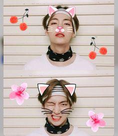 • V • #kpop #bts #v #taehyung #kawaii