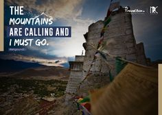 The #Mountains are calling and i must go.  #MyTravelBox   take you where ever you desire to go. Visit - www.mytravelbox.in  #lehground0.1 #leh #MyTravelbOX #TOURS #trips #nrc