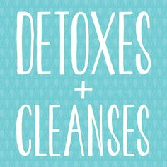 Monthly 3-Day detoxes and cleanses to download for free. Includes plan, grocery list, recipes and more! Get rid of the toxins, feel better and live a healthier life.