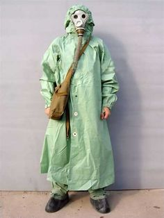 wwii chemical suit - Google Search