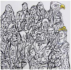 """""""Condor & Girl"""" de Andrea Valencia @ VirtualGallery.com"""