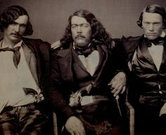 ca. 1850 - Daguerreotype. 'After the Party'