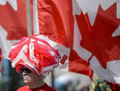 IN PHOTOS: How Canada Day 2019 was celebrated from coast to coast John Tory, Centennial Park, Patriotic Outfit, Woman Smile, Justin Trudeau, Canada Day, Coast, Celebrities, Photos