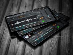 Mobile Digital DJ Business Card