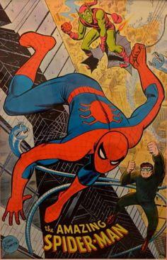 Marvelmania - Spider-Man (1970) by John Romita Sr. *