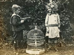 Odd Old School Black and White Photos