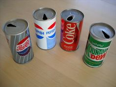 I remember when they made the top of the can smaller to save on materials. I remember pull tabs too. School Memories, My Childhood Memories, Great Memories, 1970s Childhood, Pepsi, Coca Cola, Retro, I Remember When, Oldies But Goodies