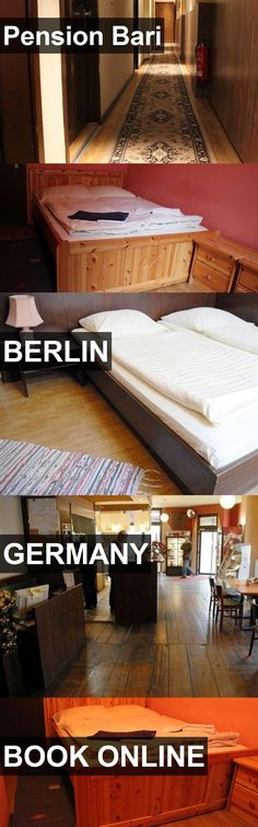 Hotel Pension Bari in Berlin, Germany. For more information, photos, reviews and best prices please follow the link. #Germany #Berlin #travel #vacation #hotel