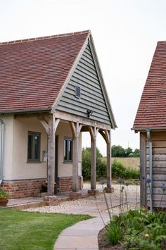 Barns & Contemporary - Border Oak - oak framed houses, oak framed garages and structures.
