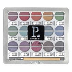 Chalk+Set+-+Pearlescent+Kan'dee+Creams+by+Pebbles+-+NOT+your+Typical+Chalks!+