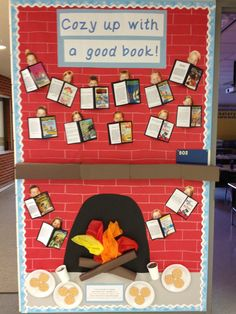 Bulletin Board for January. Can be used to display students book reports. Bulletin Board for January December Bulletin Boards, Elementary Bulletin Boards, College Bulletin Boards, Christmas Bulletin Boards, Reading Bulletin Boards, Winter Bulletin Boards, Preschool Bulletin Boards, Bulletin Board Display, Display Boards