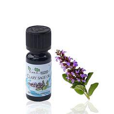 Biopark Cosmetics Myskisalvia eteerinen öljy (Clary sage) 10ml, vegaaninen tuote Clary Sage, Salvia, Jasmine, Cosmetics, Sage