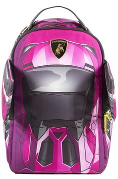 The Lambo Wings Backpack in Pink