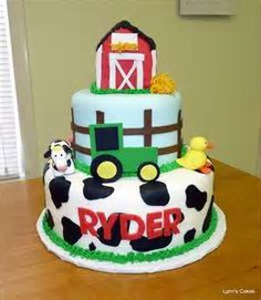 tractor barn cake