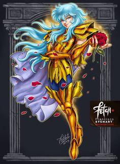 ¡Epicos diseños de Los Caballeros dorados que te van a encender el Cosmos!