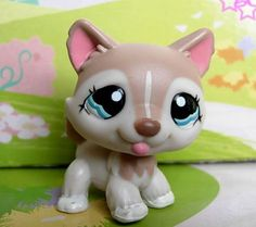 Littlest pet shop #1012 husky