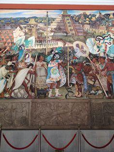 Tenochtitlan by Diego Rivera.