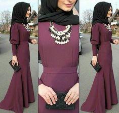 #ANCHEZA #платья #цветлюбой Hijab Gown, Hijab Evening Dress, Hijab Outfit, Abaya Designs, Kurta Designs Women, Abaya Fashion, Muslim Fashion, Modest Fashion, Fashion Outfits