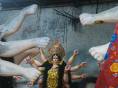 Joy Dugga PC-shishir desai Beautiful idol of Durga. #india #photography #navratri #festival