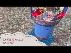 Cómo hacer un dulcero frozen fácil con un vaso térmico - YouTube