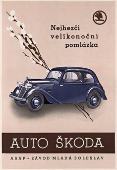 Automobile Industry, Old Ads, European Countries, Brochures, Vintage Cars, Vw, Vehicles, Historia, Vintage Posters