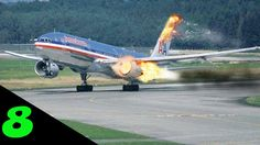 Top 8 Greatest Emergency Landings Ever ✱ Airplane crash compilation